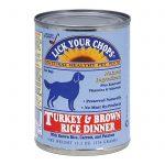 Lick Your Chops Dog Food - Turkey And Brown Rice Dinner - Case Of 12 - 13.2 Oz.   Comprar Suplemento em Promoção Site Barato e Bom