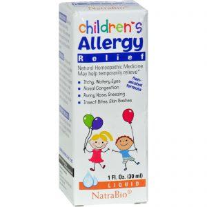 Natrabio Children's Allergy Relief - 1 Fl Oz   Comprar Suplemento em Promoção Site Barato e Bom