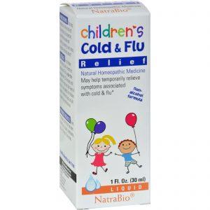 Natrabio Children's Cold And Flu Relief - 1 Fl Oz   Comprar Suplemento em Promoção Site Barato e Bom