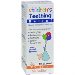 Natrabio Children's Teething Relief Drops - 1 Fl Oz   Comprar Suplemento em Promoção Site Barato e Bom