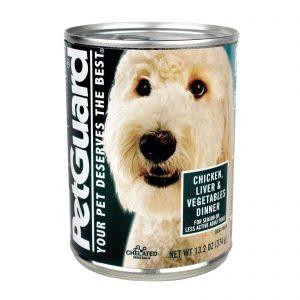 Petguard Dog Foods - Liver, Vegetable And Wheat Germ Dinner - Case Of 12 - 13.2 Oz.   Comprar Suplemento em Promoção Site Barato e Bom