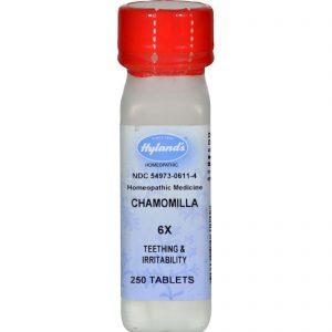 Hylands Homeopathic Chamomilla 6x - 250 Tablets   Comprar Suplemento em Promoção Site Barato e Bom