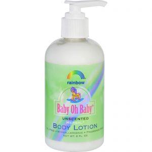 Rainbow Research Body Lotion - Organic Herbal - Baby - Unscented - 8 Fl Oz   Comprar Suplemento em Promoção Site Barato e Bom