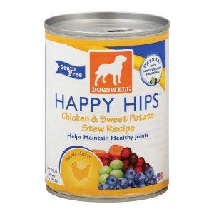 Dogs Well Happy Hips Chicken And Sweet Potato Stew Dog Food - Case Of 12 - 13 Oz.   Comprar Suplemento em Promoção Site Barato e Bom