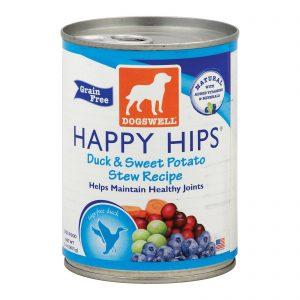 Dogs Well Happy Hips Duck And Sweet Potato Stew Dog Food - Case Of 12 - 13 Oz.   Comprar Suplemento em Promoção Site Barato e Bom