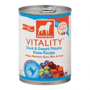 Dogs Well Vitality Duck And Sweet Potato Stew Dog Food - Case Of 12 - 13 Oz.   Comprar Suplemento em Promoção Site Barato e Bom