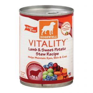 Dogs Well Vitality Lamb And Sweet Potato Stew Dog Food - Case Of 12 - 13 Oz.   Comprar Suplemento em Promoção Site Barato e Bom