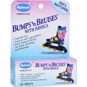 Hyland's Bumps'n Bruises With Arnica - 125 Tablets   Comprar Suplemento em Promoção Site Barato e Bom
