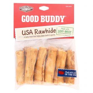 Castor And Pollux Good Buddy Rawhide Mini Rolls - Case Of 12   Comprar Suplemento em Promoção Site Barato e Bom