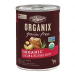 Castor And Pollux Organic Grain Free Dog Food - Chicken And Vegetables - Case Of 12 - 12.7 Oz.   Comprar Suplemento em Promoção Site Barato e Bom
