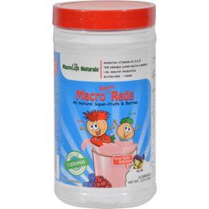 Macrolife Naturals Jr. Macro Reds For Kids Berri - 3.3 Oz   Comprar Suplemento em Promoção Site Barato e Bom