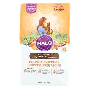 Halo Purely For Pets Spot's Stew Cat Grain - Free - Chicken Recipe Price: 15.99 - Case Of 6 - 3 Lb.   Comprar Suplemento em Promoção Site Barato e Bom