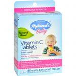 Hyland's Vitamin C Tablets Natural Lemon - 25 Mg - 125 Tablets   Comprar Suplemento em Promoção Site Barato e Bom