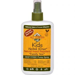 All Terrain Herbal Armor Natural Insect Repellent - Kids - Family Sz - 8 Oz   Comprar Suplemento em Promoção Site Barato e Bom