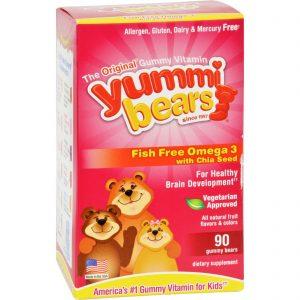 Hero Nutritionals Yummi Bear - Omega 3-6-9 - 90 Count   Comprar Suplemento em Promoção Site Barato e Bom