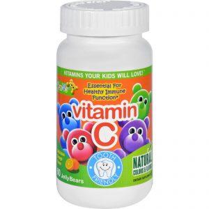 Yum V's Vitamin C Jellies Yummy Orange - 60 Chewables   Comprar Suplemento em Promoção Site Barato e Bom