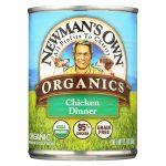 Newman's Own Organics Chicken Grain Free Dinner - Organic - Case Of 12 - 12.7 Oz.   Comprar Suplemento em Promoção Site Barato e Bom