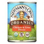 Newman's Own Organics Dog Food - Chicken And Liver - Case Of 12 - 12.7 Oz.   Comprar Suplemento em Promoção Site Barato e Bom
