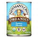 Newman's Own Organics Turkey Grain Free Dinner - Organic - Case Of 12 - 12.7 Oz.   Comprar Suplemento em Promoção Site Barato e Bom