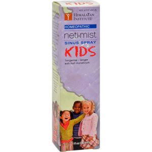 Himalayan Institute Neti Mist Kids Sinus Spray - 1 Fl Oz   Comprar Suplemento em Promoção Site Barato e Bom