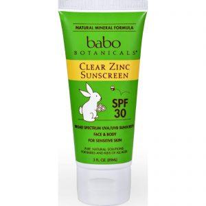 Babo Botanicals Sunscreen - Clear Zinc - Spf 30 - 3 Fl Oz   Comprar Suplemento em Promoção Site Barato e Bom