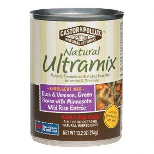 Castor And Pollux Ultra Mix Dog Food - Duck And Venison - Case Of 12 - 13.2 Oz.   Comprar Suplemento em Promoção Site Barato e Bom