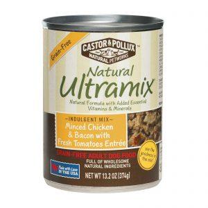 Castor And Pollux Ultra Mix Dog Food - Chicken And Bacon - Case Of 12 - 13.2 Oz.   Comprar Suplemento em Promoção Site Barato e Bom