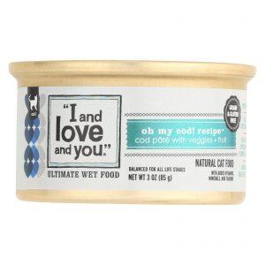 I And Love And You Oh My Cod - Recipe - Case Of 24 - 3 Oz.   Comprar Suplemento em Promoção Site Barato e Bom