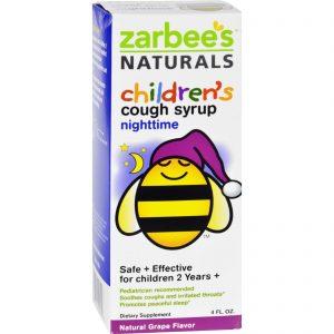 Zarbee's All Natural Children's Nightime Cough Syrup - Grape - 4 Oz   Comprar Suplemento em Promoção Site Barato e Bom