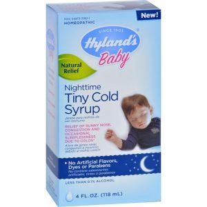 Hylands Homepathic Cold Syrup - Nighttime Tiny - Baby - 4 Fl Oz   Comprar Suplemento em Promoção Site Barato e Bom
