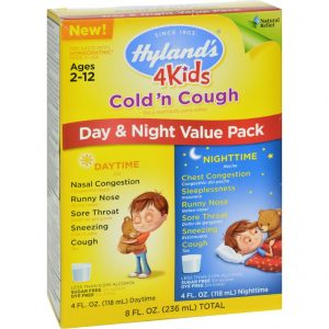 Hylands Homepathic Cold 'n Cough - 4 Kids - Day Night Val - 4 Fl Oz - 2 Ct   Comprar Suplemento em Promoção Site Barato e Bom