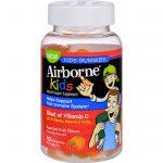 Airborne Vitamin C Gummies For Kids - Fruit - 42 Count   Comprar Suplemento em Promoção Site Barato e Bom