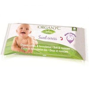 Organyc Baby Wipes - 100 Percent Organic Cotton - Sweet Caress - 60 Count   Comprar Suplemento em Promoção Site Barato e Bom