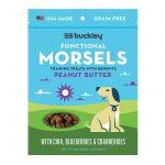 Buckley Morsels Jerky Treats - Peanut Butter - Case Of 8 - 6 Oz.   Comprar Suplemento em Promoção Site Barato e Bom