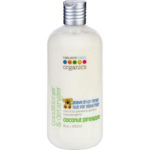 Nature's Baby Organics Conditioner And Detangler - Coconut Pineapple - 16 Oz   Comprar Suplemento em Promoção Site Barato e Bom