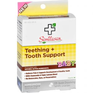 Similasan Baby Teething And Tooth Support - 135 Tablets   Comprar Suplemento em Promoção Site Barato e Bom