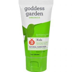 Goddess Garden Sunscreen - Natural - Kids - Spf 30 - 1 Oz   Comprar Suplemento em Promoção Site Barato e Bom