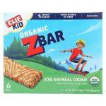 Clif Kid Zbar - Organic - Iced Oatmeal Cookie - 7.62 Oz - Case Of 12   Comprar Suplemento em Promoção Site Barato e Bom