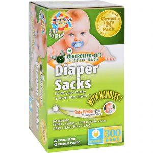 Eco-friendly Bags Green N Pack Diaper Sacks - Baby Powder Scented - 300 Bags - 1 Count   Comprar Suplemento em Promoção Site Barato e Bom