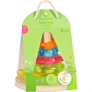 Green Sprouts Stacking Teether Tower - 6 Months Plus - Dream Window - 1 Count   Comprar Suplemento em Promoção Site Barato e Bom