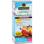 Natures Answer Sambucus - Kids Formula - Natural Cherry Flavor - 8 Oz   Comprar Suplemento em Promoção Site Barato e Bom