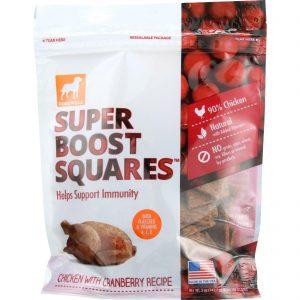 Dogswell Dog Treats - Super Boost Squares - Immunity - Chicken With Cranberry - 5 Oz - Case Of 12   Comprar Suplemento em Promoção Site Barato e Bom