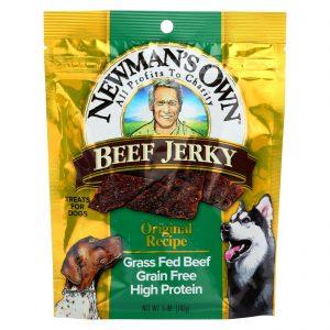 Newman's Own Organics Beef Jerky Treats For Dogs - Original - Case Of 12 - 5 Oz.   Comprar Suplemento em Promoção Site Barato e Bom