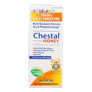 Boiron Chestal - Cough And Chest Congestion - Honey - Childrens - 6.7 Oz   Comprar Suplemento em Promoção Site Barato e Bom