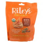 Riley's Organics Riley's Organic Treats - Peanut Butter And Molasses - Case Of 5 - 5 Oz.   Comprar Suplemento em Promoção Site Barato e Bom