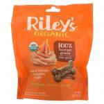 Riley's Organics Riley's Organics Treat - Peanut Butter And Molasses - Case Of 5 - 5 Oz.   Comprar Suplemento em Promoção Site Barato e Bom