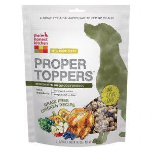 The Honest Kitchen Dog Food - Proper Toppers - Chicken - Case Of 6 - 5.5 Oz   Comprar Suplemento em Promoção Site Barato e Bom