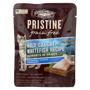 Castor And Pollux Cat - Wild Whitefish Morsel - Grain Free - Case Of 24 - 3 Oz   Comprar Suplemento em Promoção Site Barato e Bom