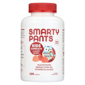 Smartypants Gummy Vitamin - Kids Complete - Cherry - 120 Count   Comprar Suplemento em Promoção Site Barato e Bom