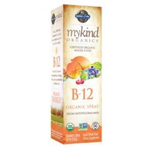 Garden of Life mykind Orgânicos B12, Orgânico - 500 mcg - 2 fl oz Spray   Comprar Suplemento em Promoção Site Barato e Bom
